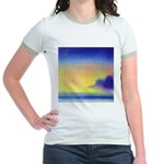 11.perfect beach..? Jr. Ringer T-Shirt
