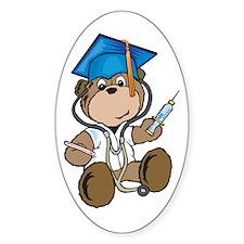 Nurse Graduation Oval Decal