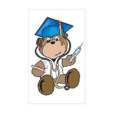 Nurse Graduation Rectangle Decal