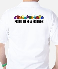 Paws/Proud To Be A Groomer T-Shirt