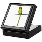 Ring Necked Parakeet Keepsake Box