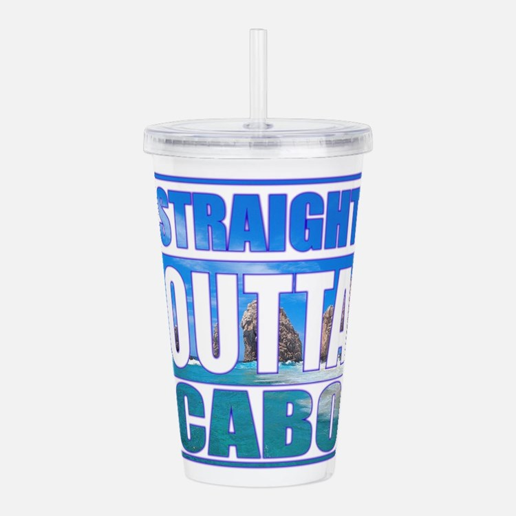Straight Outta Cabo Acrylic Double-wall Tumbler