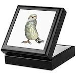 Snow Owl Keepsake Box
