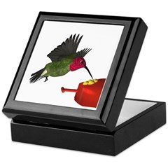 Anna Hummingbird Keepsake Box