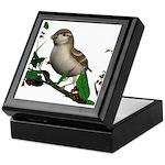 House Sparrow (female) Keepsake Box