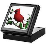 Cardinal (male) Keepsake Box