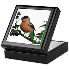 Bullfinch (male) Keepsake Box