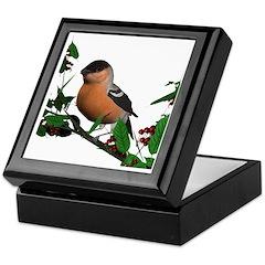 Bullfinch (male) Keepsake Box