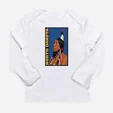 North Dakota Indian Long Sleeve T-Shirt