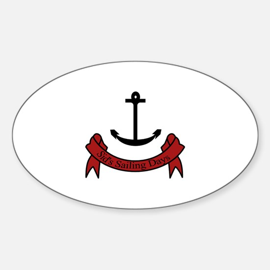 Sid's Sailing Days Decal