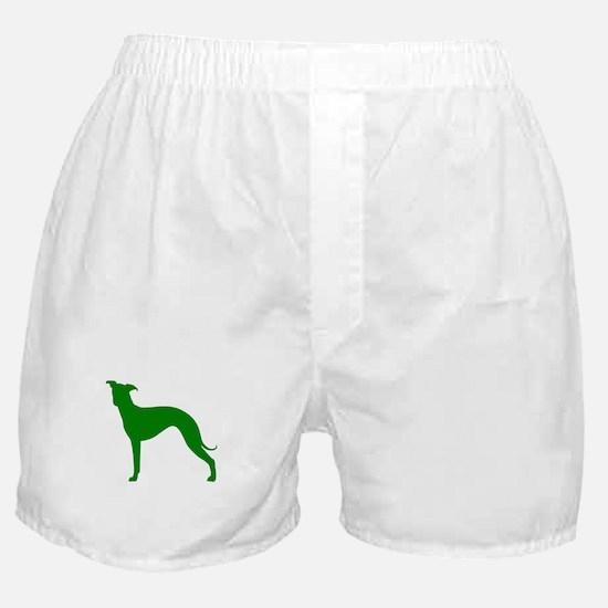 Greyhound Two Green 1 Boxer Shorts