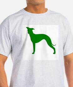 Greyhound Two Green 1 T-Shirt