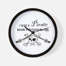Pirates cool Wall Clock
