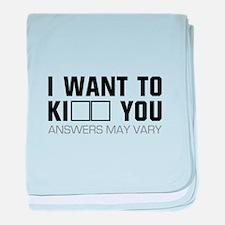 Ki-- You baby blanket
