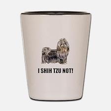 Shih Tzu Not Shot Glass
