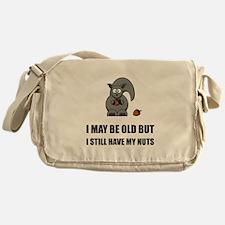 Old Squirrel Nuts Messenger Bag