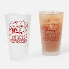 Bernie Sanders is my comrade Drinking Glass