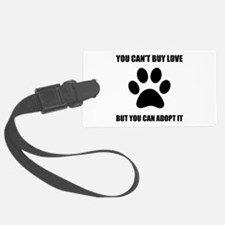 Adopt Love Luggage Tag