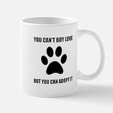 Adopt Love Mugs