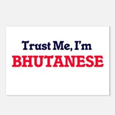 Trust Me, I'm Bhutanese Postcards (Package of 8)