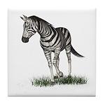 Zebra Tile Coaster
