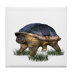Snapping Turtle Tile Coaster