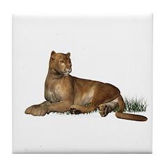 Puma Tile Coaster