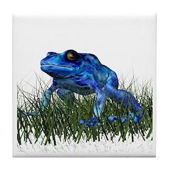 Poison Dart Frog Tile Coaster