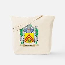Maclaren Coat of Arms - Family Crest Tote Bag