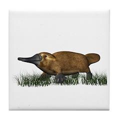 Platypus Tile Coaster