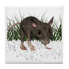 Mouse Tile Coaster