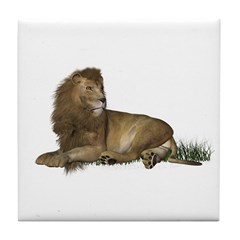 Lion Tile Coaster