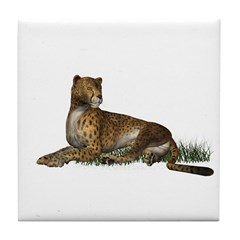 Cheetah Tile Coaster