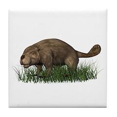 Beaver Tile Coaster