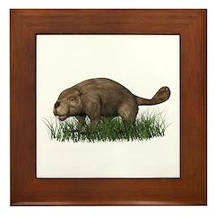 Beaver Framed Tile