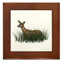 Deer (fawn) Framed Tile