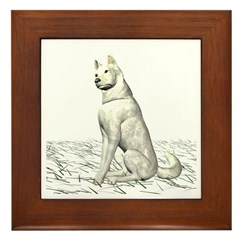 White Wolf Framed Tile
