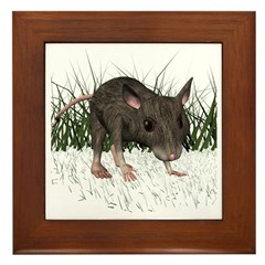 Mouse Framed Tile