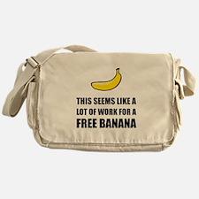 Free Banana Messenger Bag