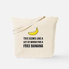Free Banana Tote Bag