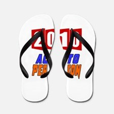 2007 Aged To Perfection Flip Flops