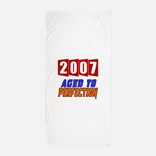 2007 Aged To Perfection Beach Towel