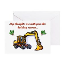 Heavy Machinery Greeting Card