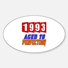 1993 Aged To Perfection Sticker (Oval)