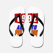 1992 Aged To Perfection Flip Flops