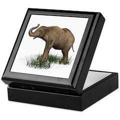Elephant (baby) Keepsake Box