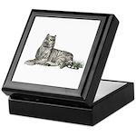White Tiger Keepsake Box
