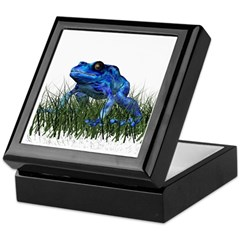 Poison Dart Frog Keepsake Box