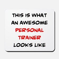 awesome personal trainer Mousepad