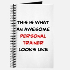 awesome personal trainer Journal